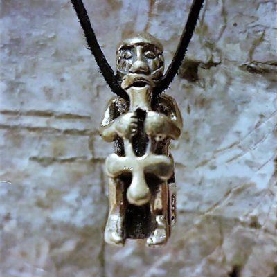 Thor gudevedhæng i Sølv - Forn Sidr Handelsplads