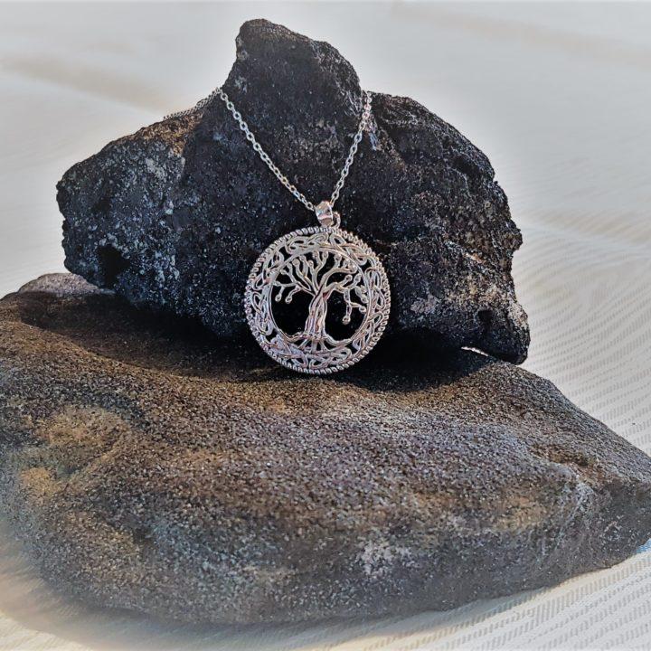 Yggdrasil i sølv - Forn Sidr Handelsplads